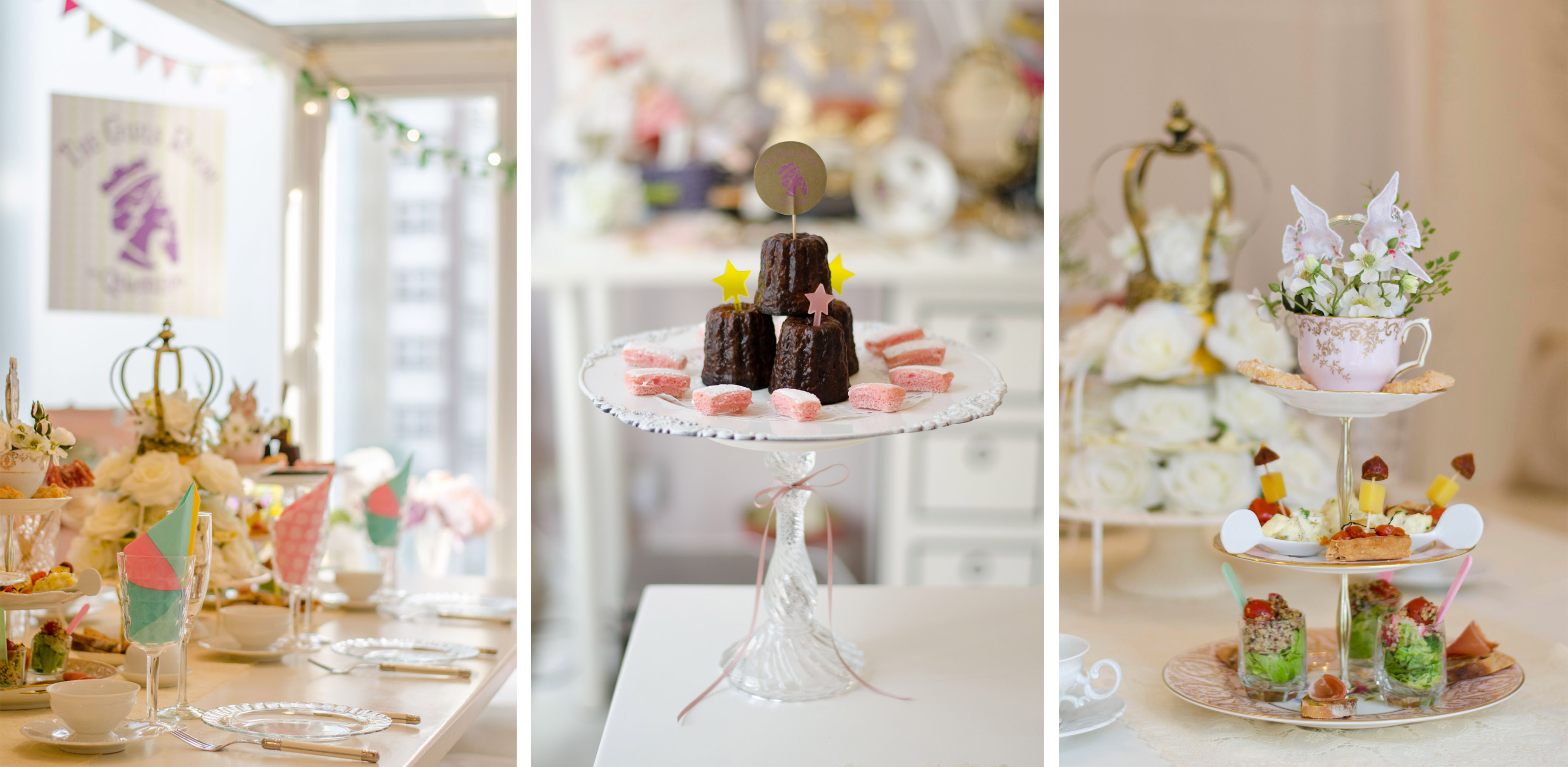 Royal Birthday Tea Party HK_The Girls Room by QueenEco