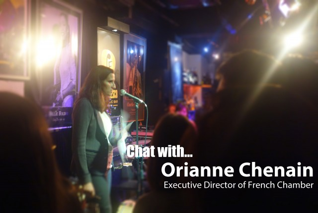 CHAT WITH Executive Director of French Chamber