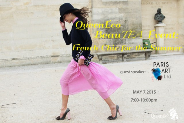 QueenEco Event French Chic for the Summer