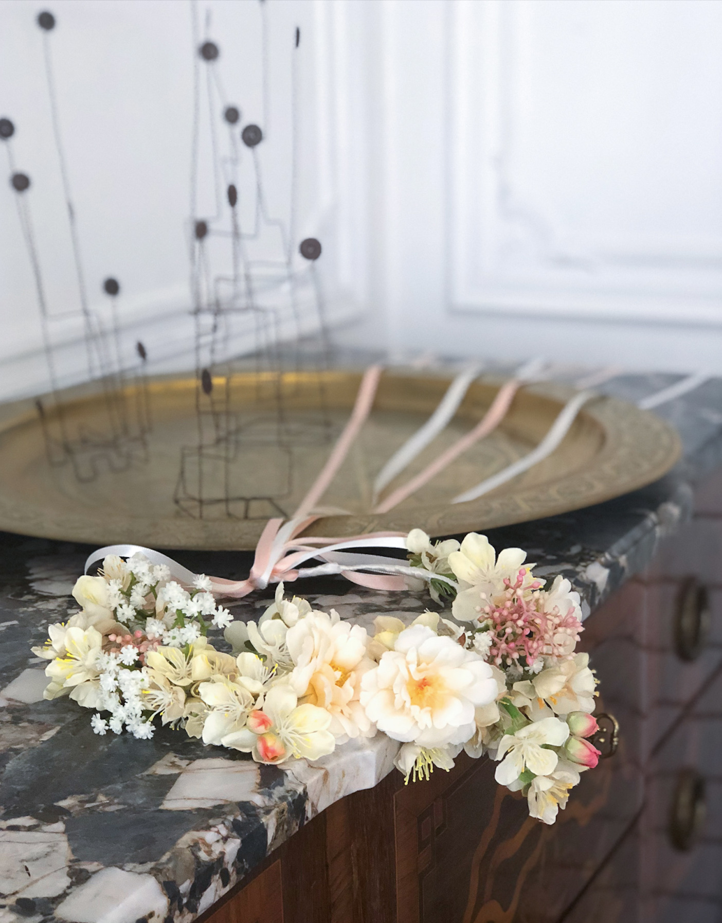 Flower Crown French Style_The Girls Room by QueenEco