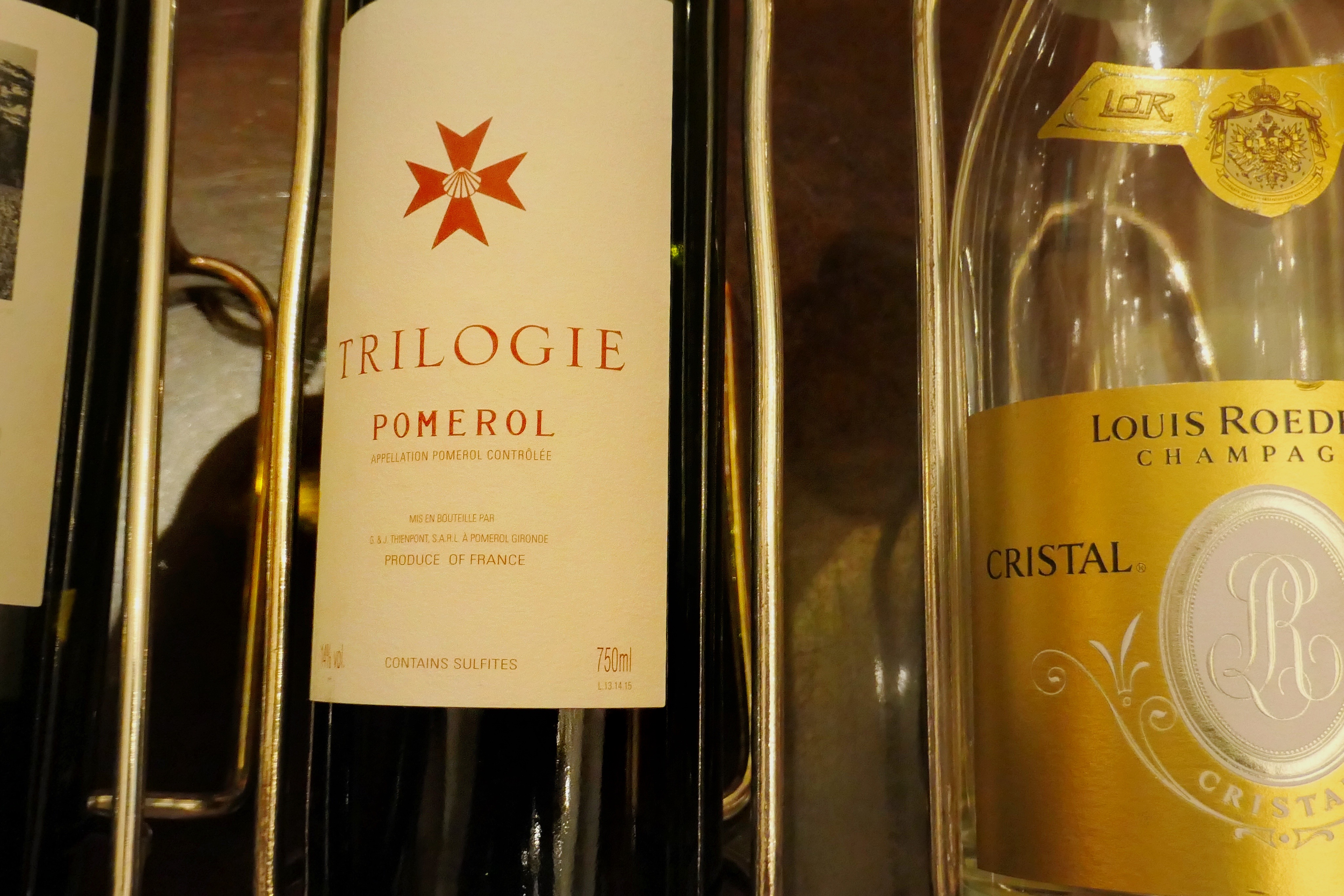 Trilogie is one of the top vintage-blend red wines in the world.  The other two are Vega Sicilia Reserva Especial Unico and ZD Abacus.